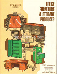 Cleveland Business Furniture Cole Office & Storage Products 1980 Catalog