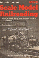 Introduction to Scale Model Railroading 1968 vintage original old booklet