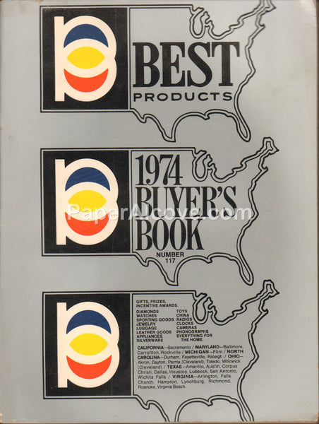 Best Products Catalog #117 1974 Buyer's Book vintage original catalog toys