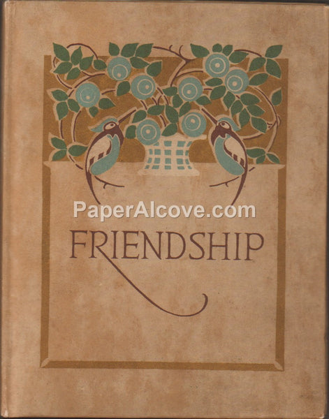 Friendship by Samuel Ellsworth Kiser 1913 original vintage book