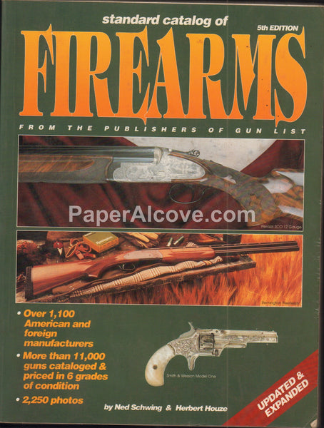 Standard Catalog of Firearms vintage 1995 5th Edition guns Schwing Houze
