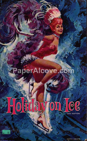 Holiday on Ice 1969 23rd Edition vintage souvenir program ice skating
