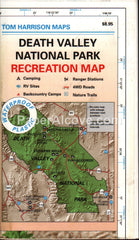 Death Valley National Park Recreation Map 2000 Tom Harrison waterproof plastic hiking backpacking