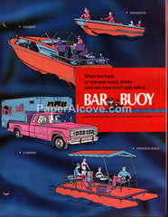 Bar Buoy 1974 vintage original boating brochure