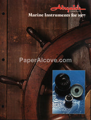 Airguide Marine Instruments 1977 vintage original boating catalog No. 977