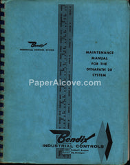 Bendix Dynapath 20 Machine Control Units 1963 Maintenance Manual