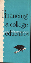 Financing a College Education Cleveland Trust Company 1950s booklet