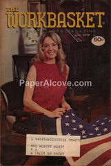 Workbasket Magazine June 1976 Patriotic American Flag cover