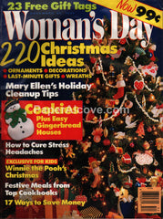 Woman's Day magazine December 1990 Christmas tree