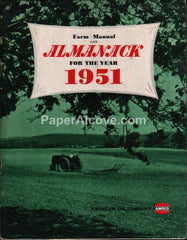 Amoco Farm Manual Almanac 1951