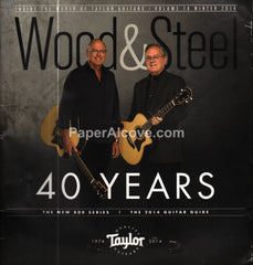 Wood & Steel Taylor Guitars Winter 2014 magazine