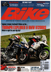 Bike September 2012 British motorcycle magazine