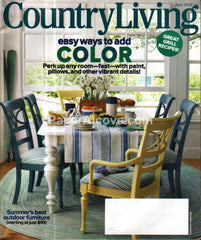 Country Living June 2012 design magazine
