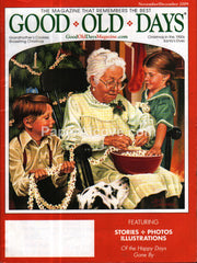 Good Old Days November December 2009 nostalgia magazine