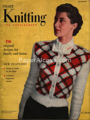 Smart Knitting and Needlecraft 1948 5th Edition pattern magazine