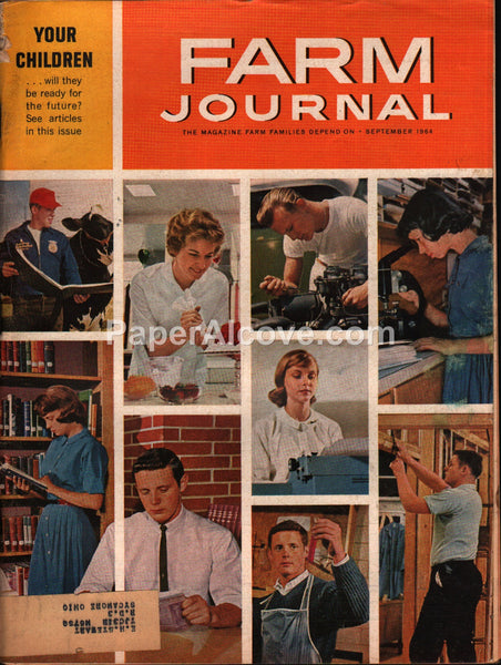 Farm Journal magazine September 1964