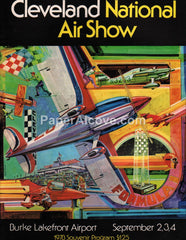 Cleveland National Air Show 1978 Program Burke Lakefront Airport