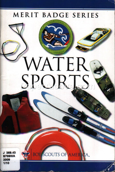 Boy Scouts Water Sports Merit Badge 2009 Booklet