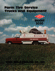 IMTCO Farm Tire Service Truck Model 3030 1978 brochure Iowa Mold Tooling