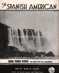 Grace Line The Spanish American newsletter 1939 New York State