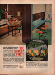 1963 Barclay Manufacturing Co. Inc. New York NY vintage print ad