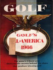 Golf January 1967 vintage magazine
