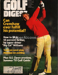 Golf Digest June 1979 vintage magazine Ben Crenshaw cover