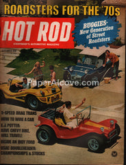 Hot Rod magazine September 1970 vintage cars roadsters dune buggies