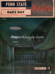 Ohio State Penn State Dad's Day 1963 OSU football program
