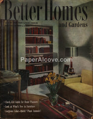 Better Homes and Gardens vintage magazine May 1946