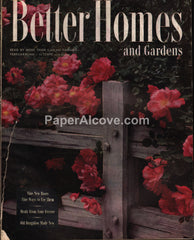 Better Homes and Gardens vintage magazine February 1946
