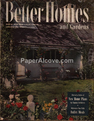 Better Homes and Gardens vintage magazine January 1946