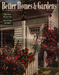 Better Homes and Gardens vintage magazine May 1945