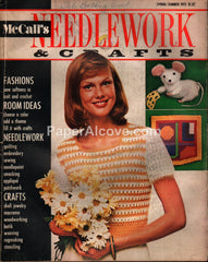 McCall's Needlework & Crafts vintage magazine Spring Summer 1973