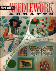 McCall's Needlework & Crafts vintage magazine Spring Summer 1971