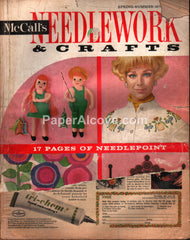 McCall's Needlework & Crafts vintage magazine Spring Summer 1970