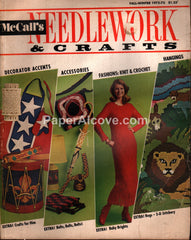 McCall's Needlework & Crafts vintage magazine Fall Winter 1972 1973