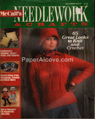 McCall's Needlework & Crafts vintage magazine Fall Winter 1974 1975