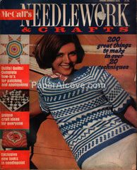 McCall's Needlework & Crafts vintage magazine Spring Summer 1974
