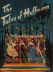 Tales of Hoffmann 1951 movie program Powell & Pressburger musical opera