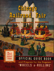 Chicago Railroad Fair 1949 Office Guide Book Program