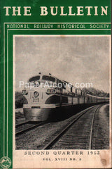 National Railway Historical Society Bulletin 2nd Qtr 1953 magazine