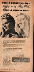 1947 Lydia E. Pinkham Vegetable Compound vintage print ad