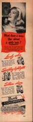 1947 Nestle Colorinse hair color vintage print ad