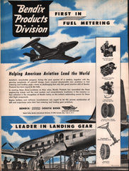 1951 Bendix Products Division Aviation New York NY vintage print ad
