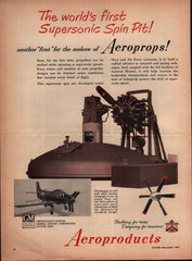 1951 General Motors Aeroproducts Dayton OH vintage print ad