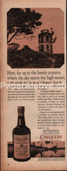 Chequers Blended Scotch Whisky 1966 vintage print ad