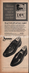 Jarman Shoes for Men Nashville 1966 vintage print ad