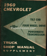 1960 Chevrolet Truck Shop Manual Supplement S&M 23