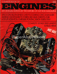 Hot Rod Magazine The Complete Book of Engines 6th Annual 1970